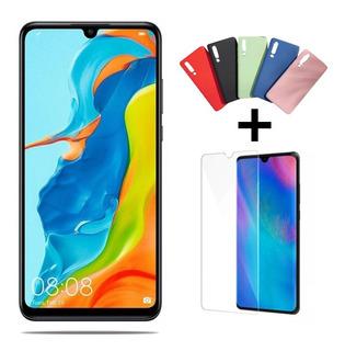 Smartphone Huawei P30 Lite 128gb 4gb +película+ Capinha Top