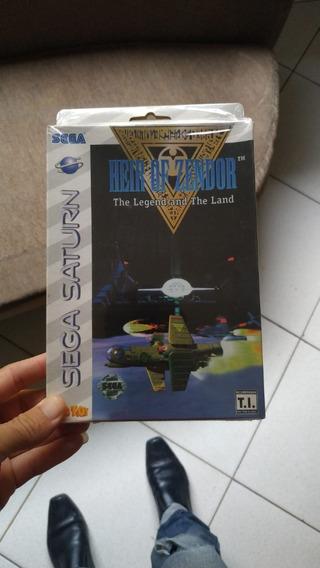 Jogo Sega Saturn-heir Of Zendor-original Tec Toy/no Plástico