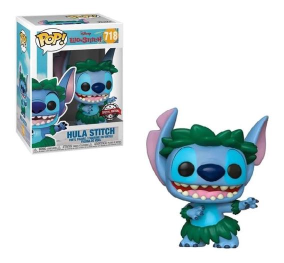 Boneco Funko Pop Lilo E Stitch Hula Stitch 718