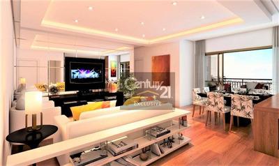 Apartamentos A Partir De R$490.000,00 Com 3 Dormitórios Sendo 1 Suíte, Com Varanda Gourmet Integrada E 2 Vagas De Garagem Cobertas. Consulte-nos! - Ap0210