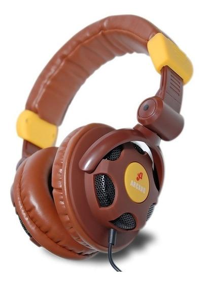 Arcano Fone Para Dj Musicos E Estudio Arc-xhp100 !