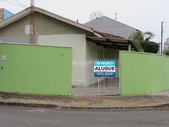 Casa Para Aluguel, 1 Quarto, 2 Vagas, Jardim Amélia - Americana/sp - 10703