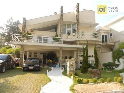 Casa Com 4 Dormitórios À Venda, 720 M² Por R$ 3.800.000,00 - Aldeia Da Serra - Barueri/sp - Ca0552