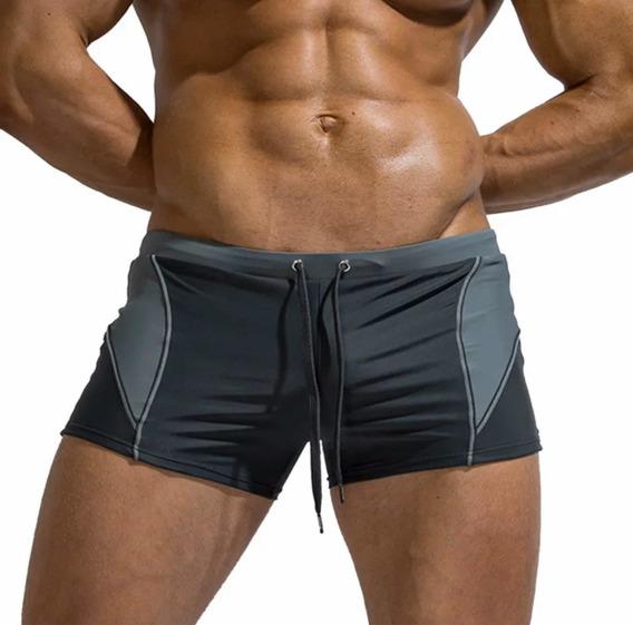 Traje De Baño Corto , Short Bañador Slim Fit Moda Calidad Mf