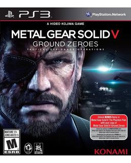 Metal Gear Solid Ground Zero V Ps3 Digital Entrega Inmediata