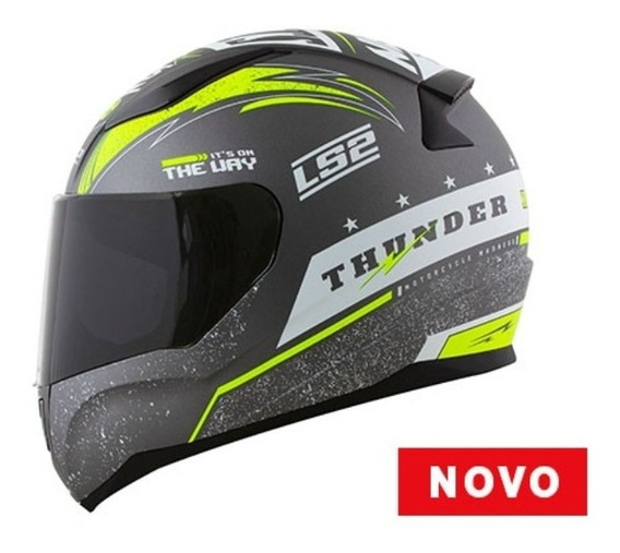 Capacete Masculino Ls2 Ff353 Thunder