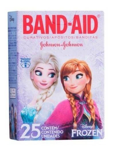 Band Aid Frozen Curativo Infantil 25 Unidades