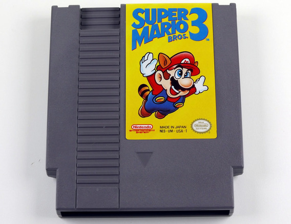 Super Mario Bros 3 Original Nintendo Nes