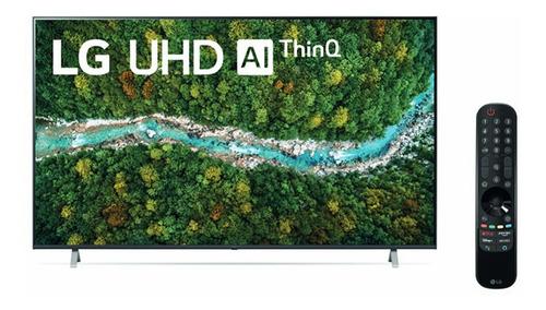 Imagen 1 de 3 de Tv LG Uhd 55  4k Smart Thinq Ai 55up7750psb (2021)
