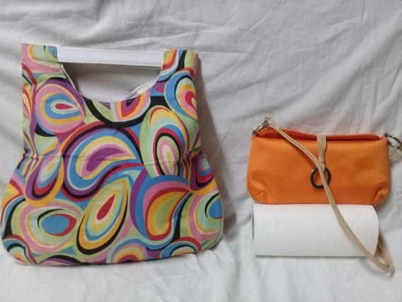 Carterita Azzaro/bolso Multicolor Design (microcentro)