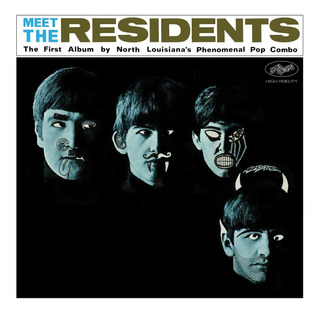 The Residents Meet The Residents Cd Doble 2 Cd Nuevo Import