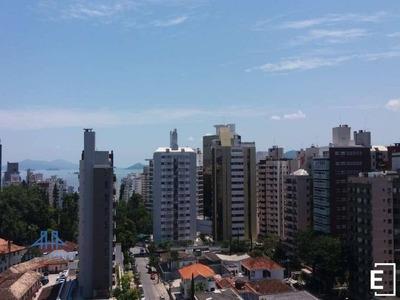 Amplo Apartamento, 04 Dormitórios, No Centro De Florianópolis - Área 150m² - Ap2554