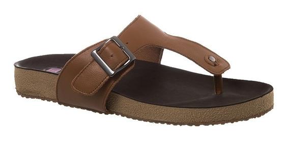 Sandália Feminina Birks Em Couro Caramelo 212 Doctor Shoes