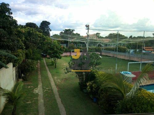 Chácara Com 3 Dormitórios À Venda, 1180 M² Por R$ 600.000,00 - Condomínio Bom Jesus De Pirapora - Campinas/sp - Ch0646