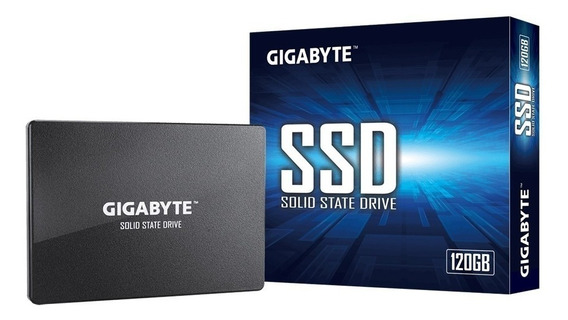 Disco Solido Ssd Gigabyte 120gb Sata3 500mb/s Speed Gamer