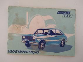 Manual Proprietário Fiat 147 1977