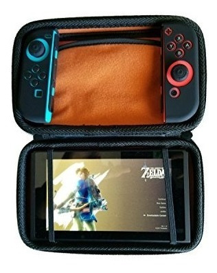 Nintendo Switch Starter Bundle - Hard Travel Case With Ten G