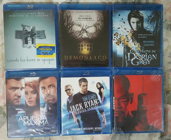 Lote Blu Ray Nuevos Y Sellados Terror, Acción, Comedia