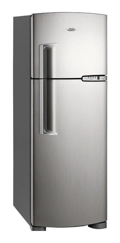 Heladera no frost Whirlpool WRM42  inox con freezer 380L 220V