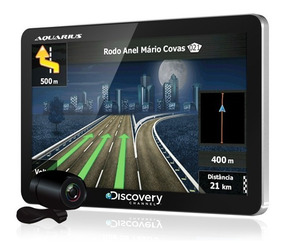 Gps Automotivo Discovery 4.3 Tv Digital Câm.ré Alerta Radar