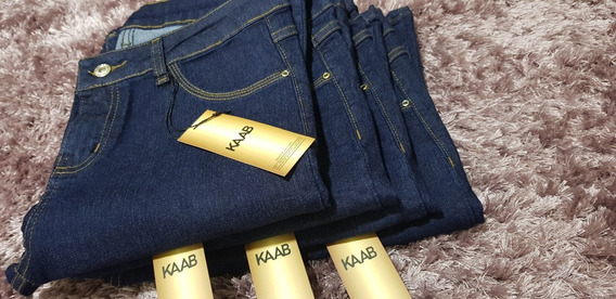 Kit 2 Calças Jeans Feminina Flare Elastano Mega Conforto