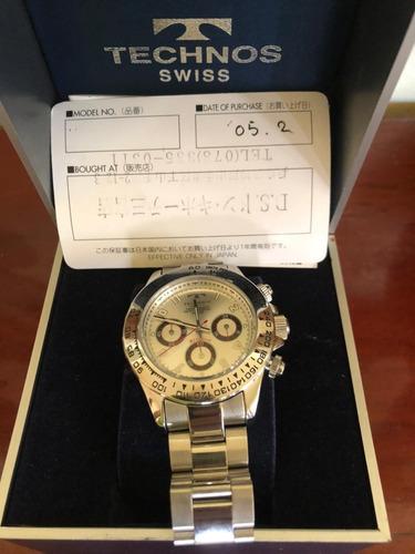 Relógio Technos Swiss Klassisch Importado