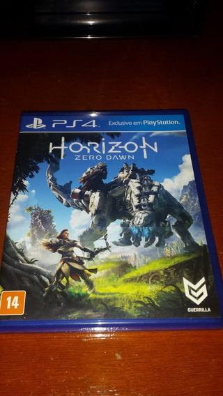Jogo Horizon Zero Dawn - Ps4 Mídia Física Original