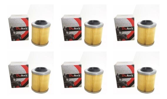 Kit 6 Filtro Oleo Quadriciclo E Utv Can Am Atacado