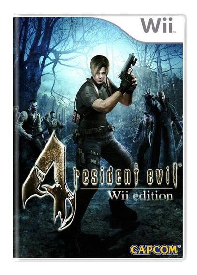 Resident Evil 4 Wii Lacrado Mídia Física Pronta Entrega