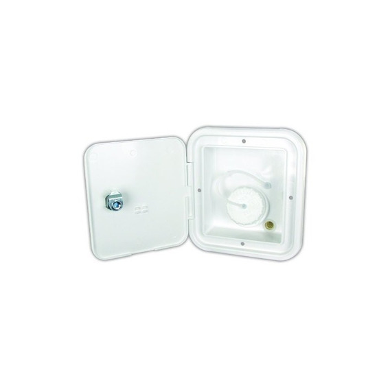 Productos Jr Jfe12-a Polar White Key Lock Gravity Water Hatc