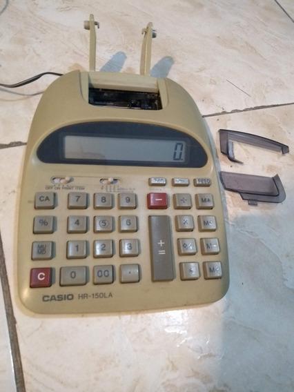 Calculadora De Bobina Casio Hr 150 La Funcionando