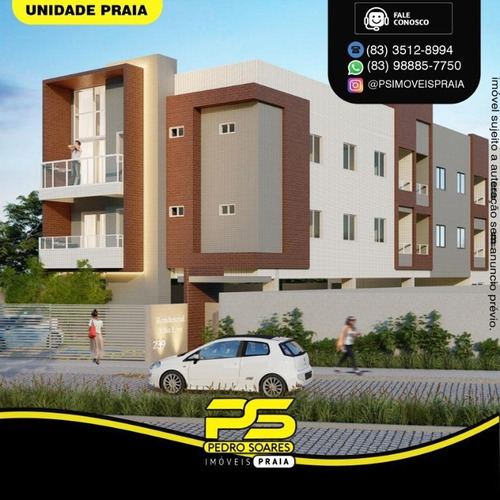 Apartamento Com 2 Dormitórios À Venda, 56 M² Por R$ 193.000,00 - Bancários - João Pessoa/pb - Ap4636