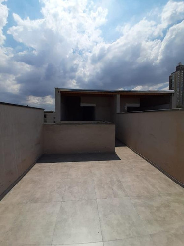 Imagem 1 de 9 de Cobertura Com 2 Dormitórios À Venda, 86 M² Por R$ 398.000,00 - Jardim Stella - Santo André/sp - Co1324