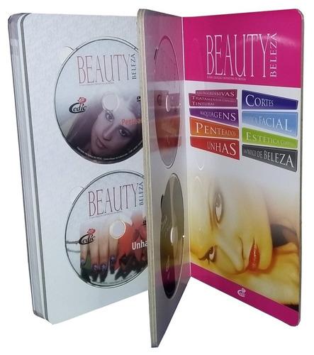 Livro Beauty Beleza Com 8 Dvds