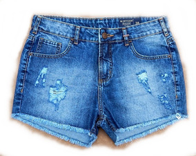 Shorts Jeans M. Officer Washed Blue