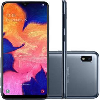 Smartphone Samsung Galaxy A10 32gb Dual Chip Android 9.0 Tela 6.2 Octa-core 4g Câmera 13mp - Preto