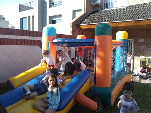 Imagen 1 de 2 de Alquiler De Juegos Inflables..metegol.. Tejo.. Plaza Y Otros