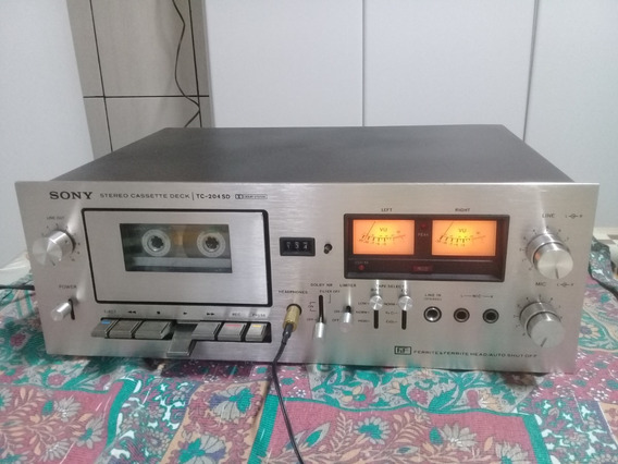 Tape Deck Sony Tc-204 Sd/ Ñ Marantz,sansui,akai / Som Antigo