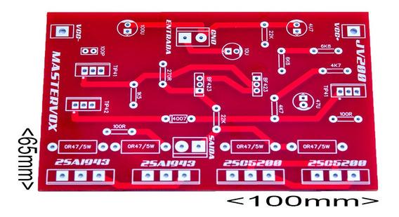 Placa Para Montar Amplificador 200w Rms Com C5200 E A1943