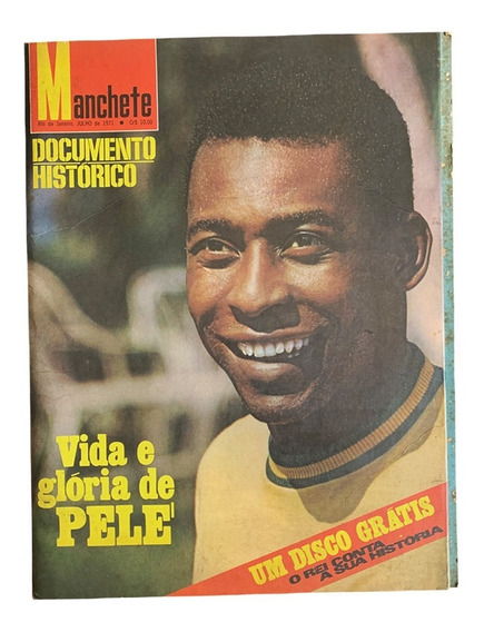 Revista Manchete A Vida E Glória De Pelé
