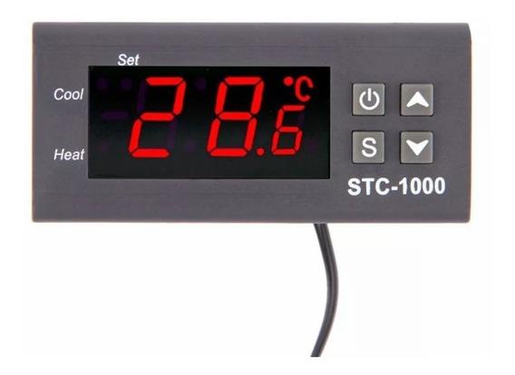 1-termostato Digit Stc-1000 Controlador Temperatura 110/220v