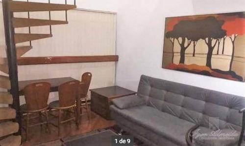 Imagem 1 de 8 de Flat Com 1 Dormitório Para Alugar, 40 M² Por R$ 2.500,00/mês - Paraíso - São Paulo/sp - Fl0103