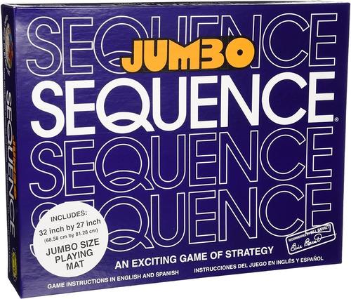 Juego De Mesa Sequence Jumbo Jax Ldt 68.58x81.28cm Original