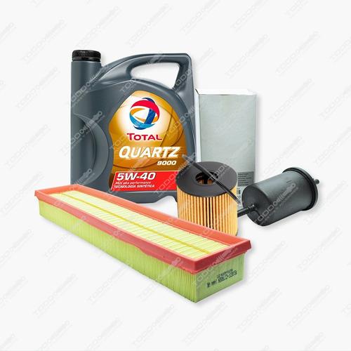 Kit 3 Filtros + Aceite Peugeot 308 Y 408 1.6 Nafta Original