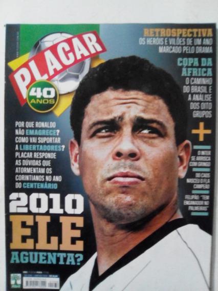 Revista Placar 1338 Ronaldo Flamengo Tabela Copa Mundo 2010