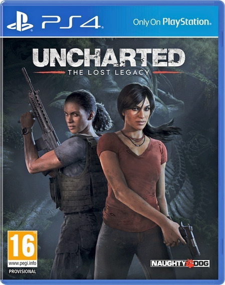 Jogo Uncharted The Lost Legacy Ps4 Novo Lacrado