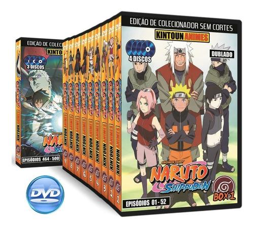 Naruto Shippuuden Completo Em Dvd + Todos Filmes + Ovas