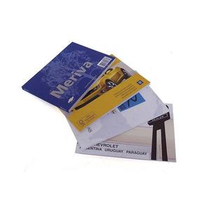 Manual Do Proprietário Chevrolet Meriva Flex E Kit Livretos