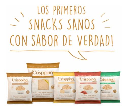Crisppino Snacks Saludables De Arroz (caja 20u)