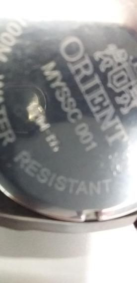 Relógio Orient Masculino Cronógrafo Myssc001